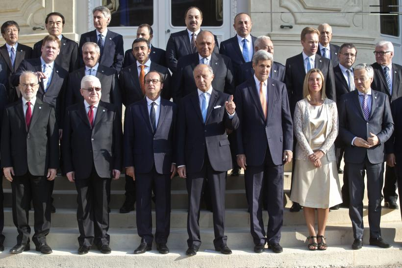 Paris Conference On ISIS_Sept15