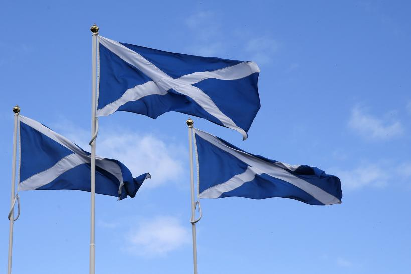 Saltire Flags