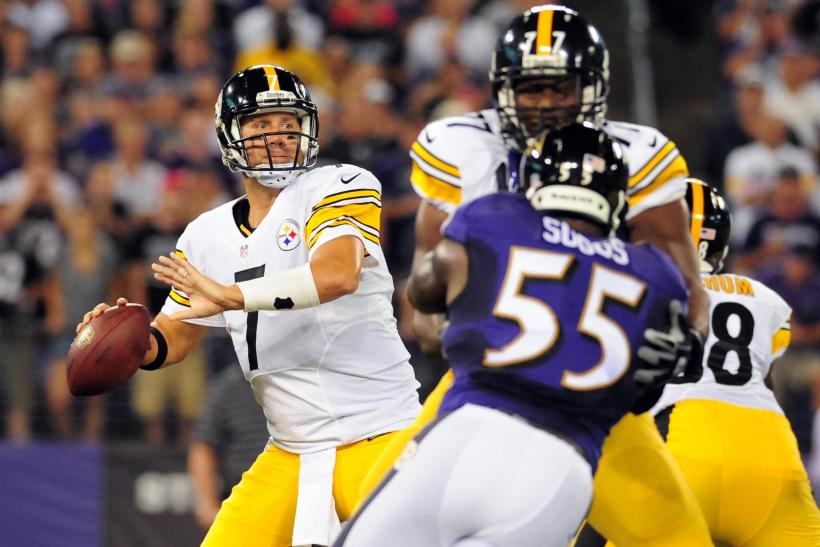 ben roethlisberger Steelers 2014