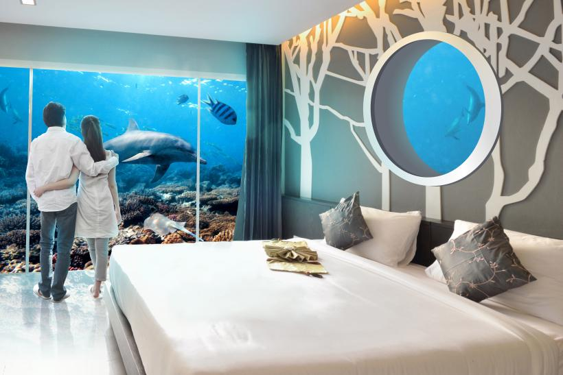 Underwater Rooms And Holographic Personal Trainers: Hotels