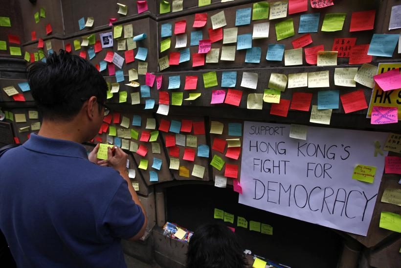 hong kong protests Sep30