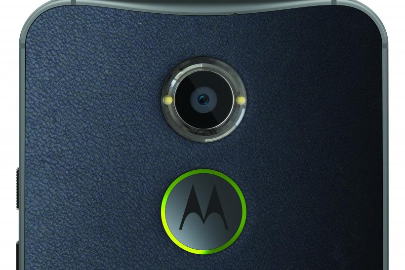 Moto X Navy Leather