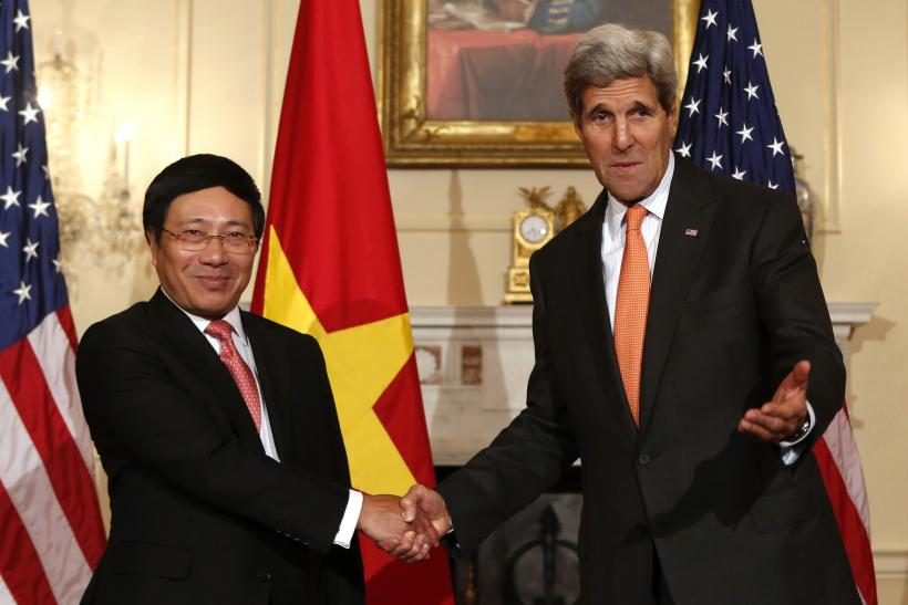 kerry and vietnam's fm