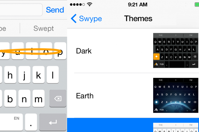 swype text iphone swype keyboard gets boost from apple ios 8 13070