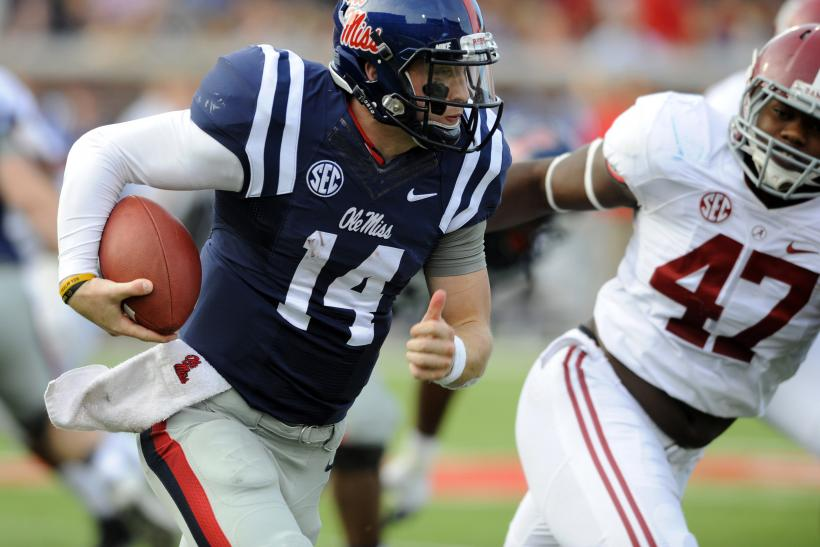 Bo Wallace Ole Miss 2014