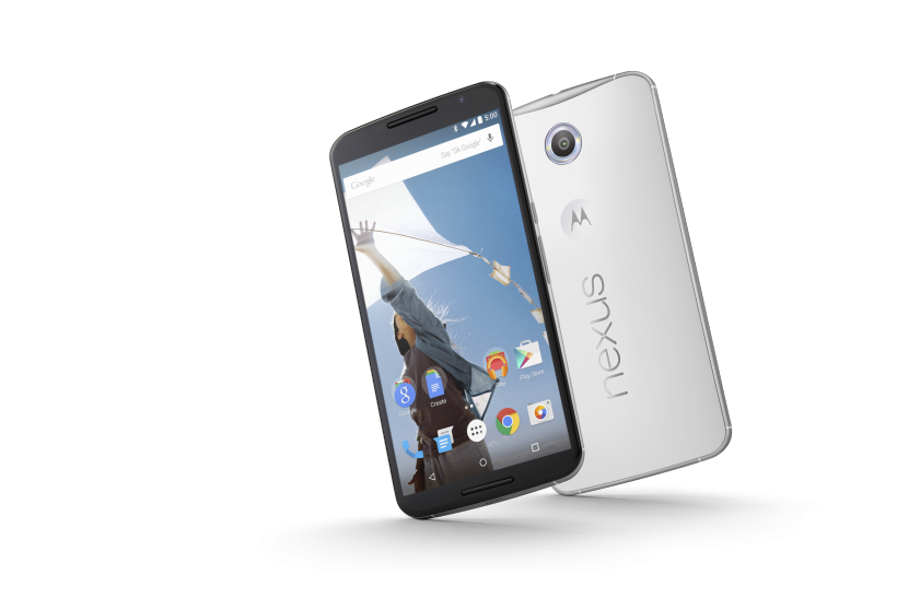 Nexus 6 Hero Image Cloud White