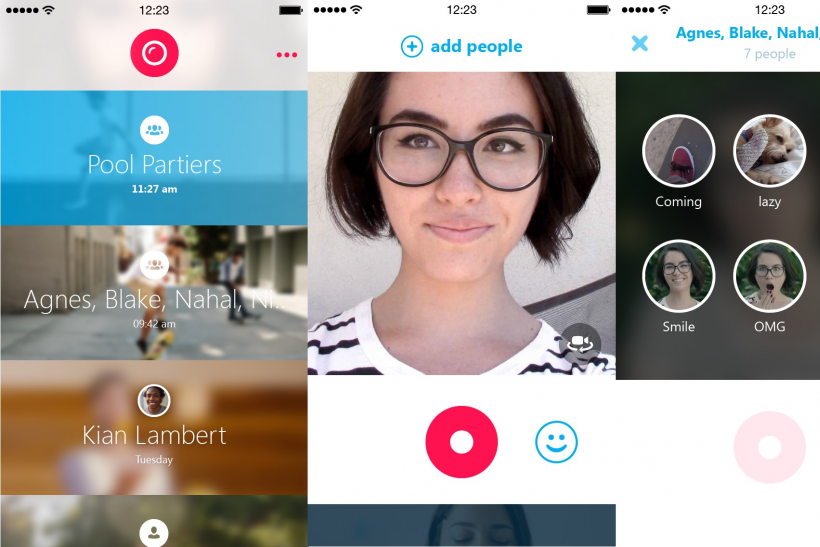Skype Qik: Microsoft's Video-Messaging App Works On iPhone
