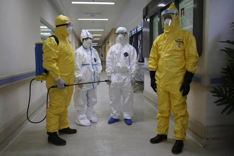 Ebola drill in China