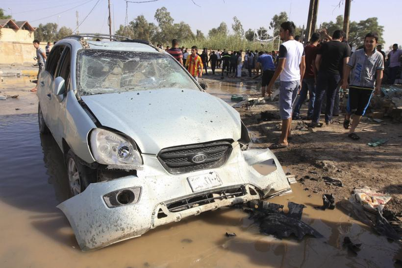 ISIS car bomb attack