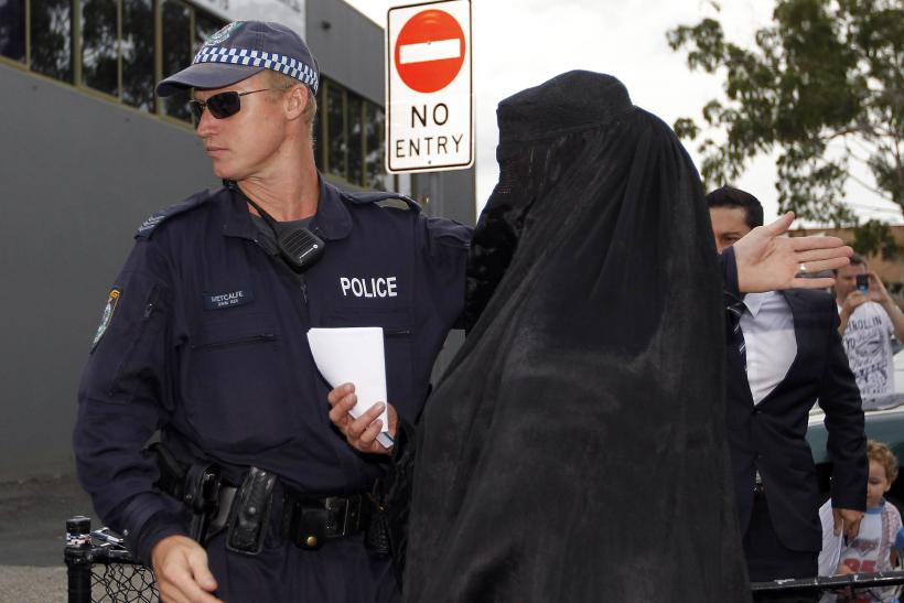 women wearing burqa in Sydney