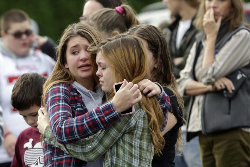 Marysville-Pilchuck High School shooting aftermath in Washington state