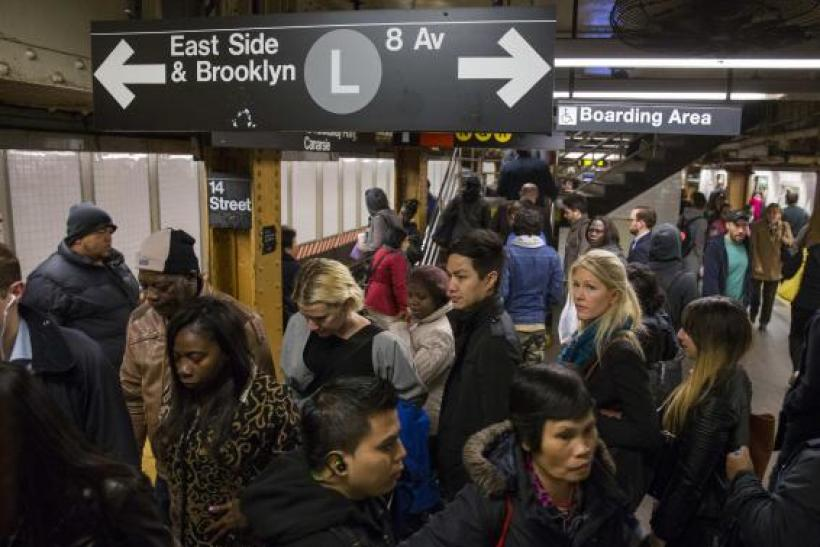 NYC subway amid Ebola news
