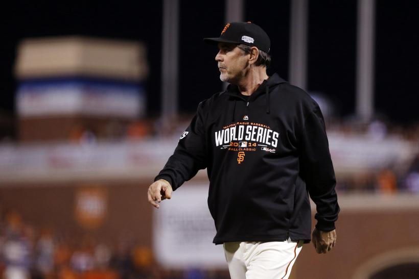 Bruce Bochy Giants 2014