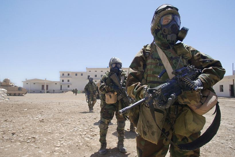 US troops Iraq chemical