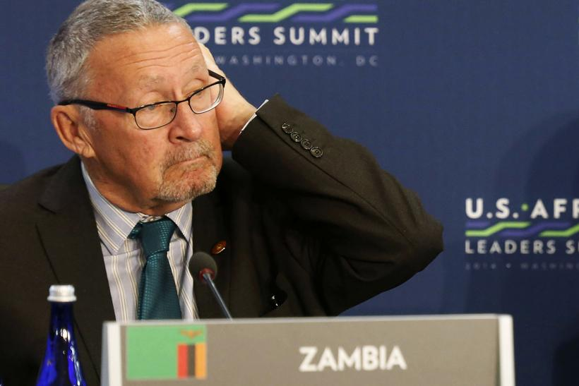 Zambia's acting President Guy Scott