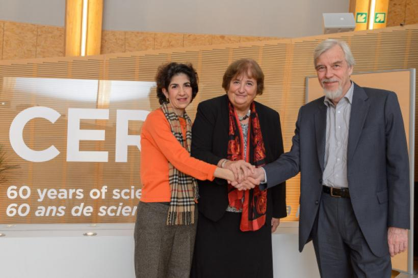 Fabiola Gianotti, first female CERN director
