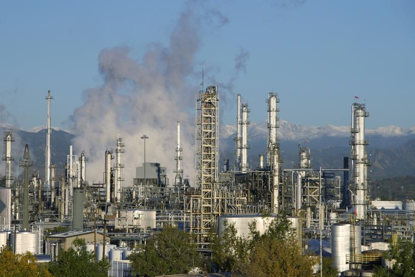 US Oil Refinery