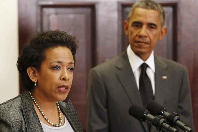 Image result for President Obama and AG Lynch