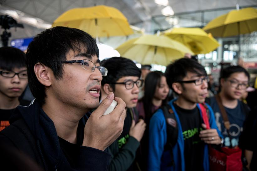 Hong Kong protest leaders