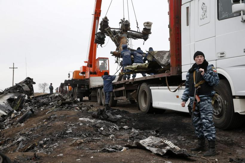 MH17 wreckage removed