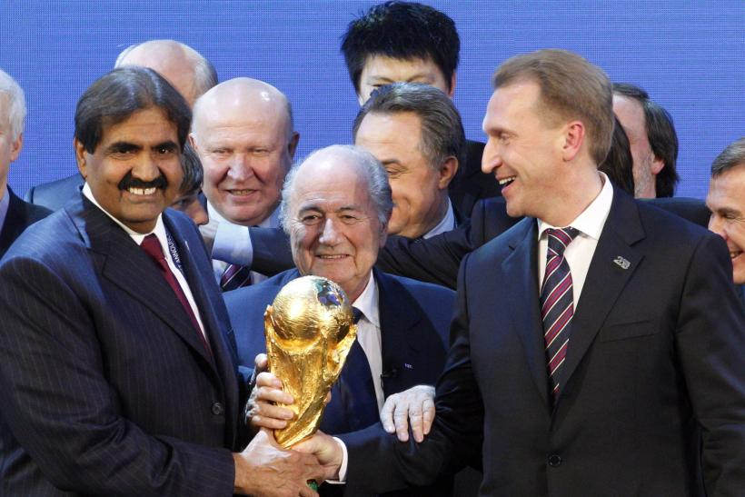 Sepp Blatter, FIFA 2018 and 2022 World Cups