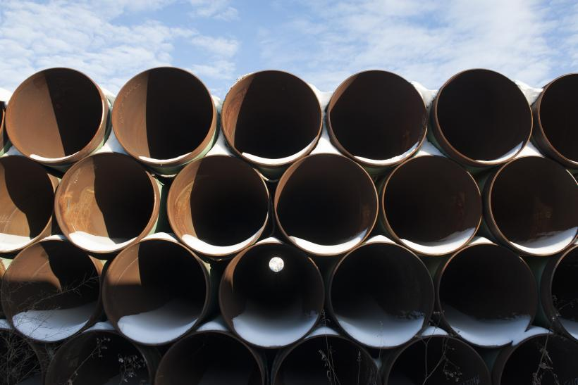 Keystone XL Pipes