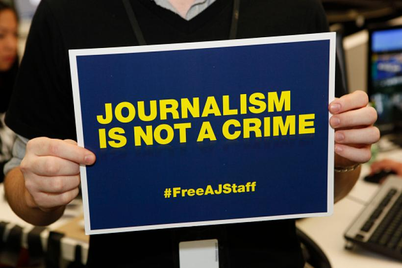 Journalism is not a crime campaign