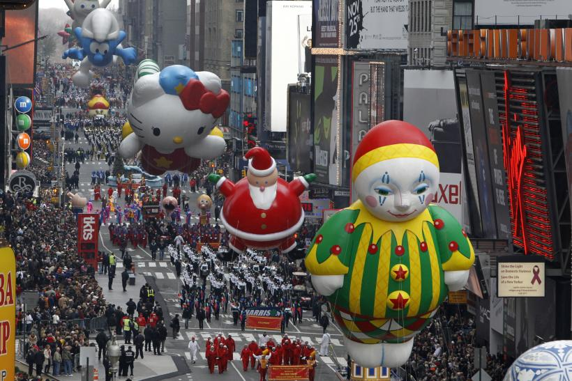 Macy\u0027s Thanksgiving Day Parade 2014: Route Map, Start Time And Where
