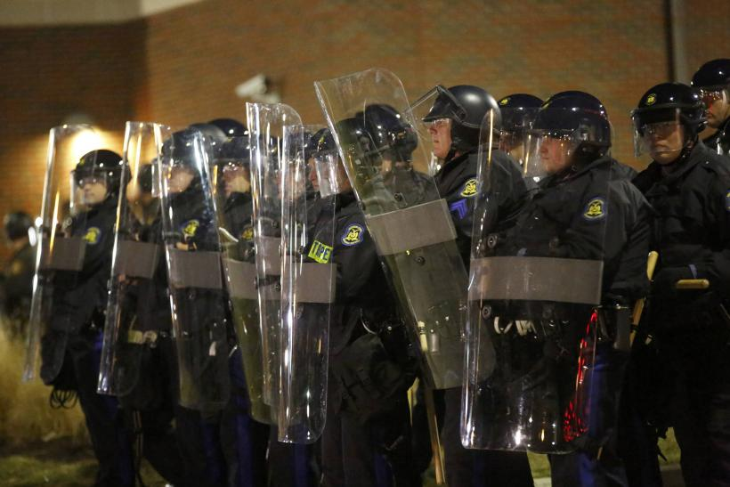 ferguson copys in riot gear