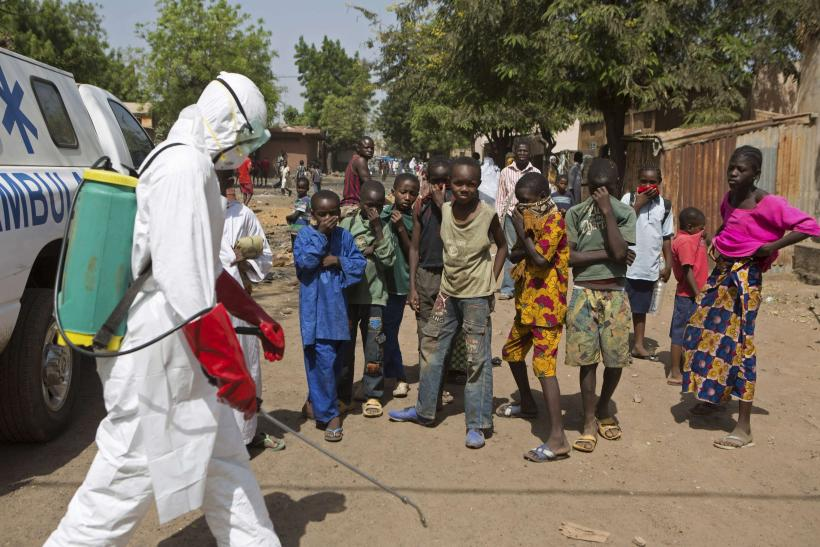 Ebola infection in Mali