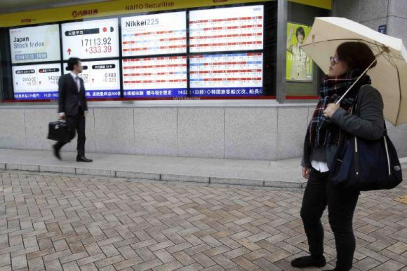 Japan's Nikkie average, stock prices
