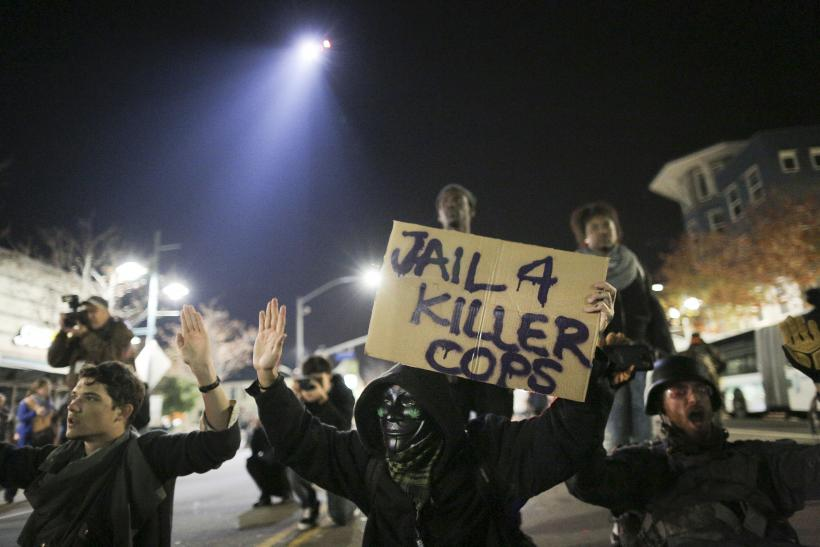 Ferguson protest in Oakland
