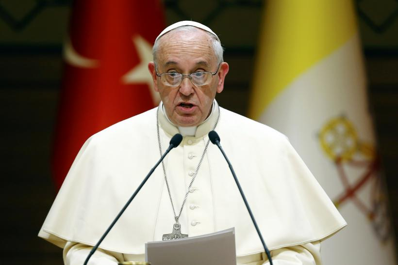 pope in turkey