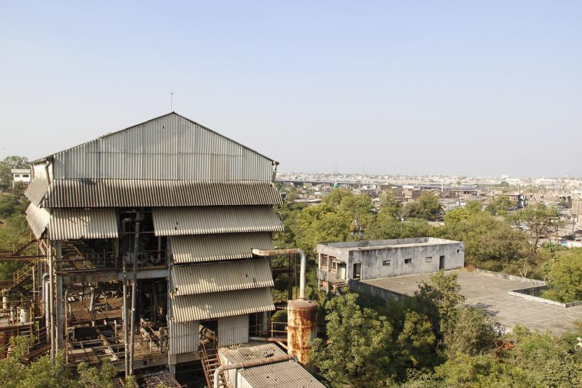 Union Carbide plant in Bhopal, India