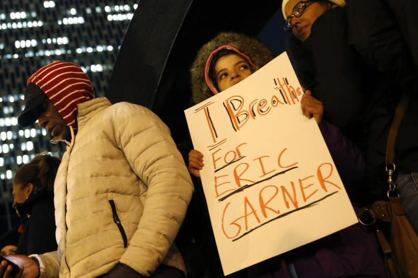 Eric Garner Foley Square protest