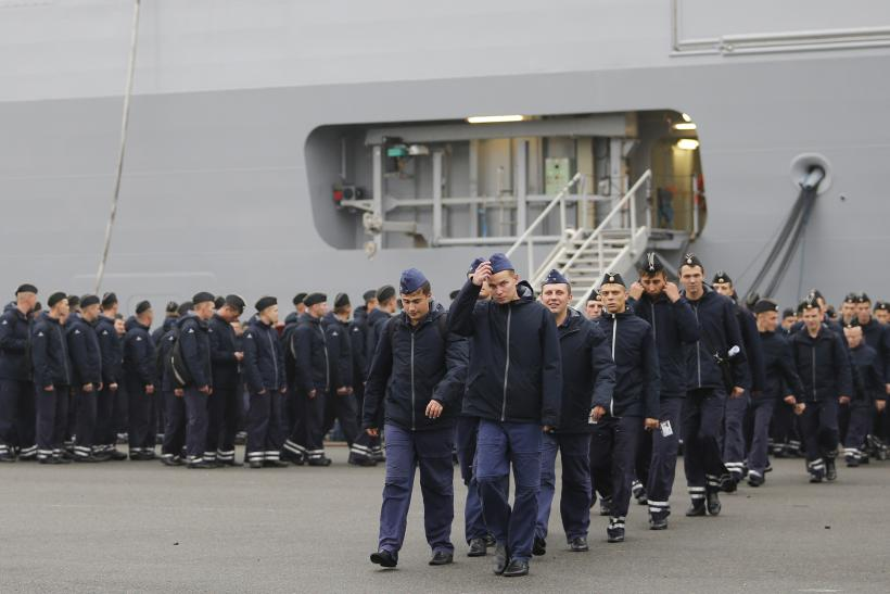 France, Russia Warship Dispute