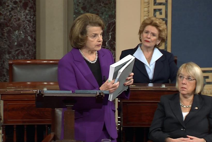 Dianne Feinstein Reads From The Senate Select Intelligence Committee's Summary Of The Torture Report