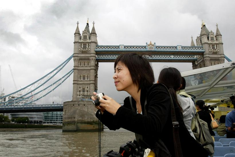 Chinese tourists London