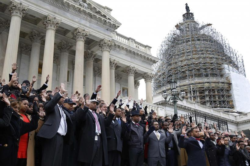 Congressional Staffers Walk Out
