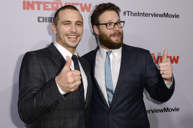 "Seth Rogen, James Franco at ""The Interview"" premiere"