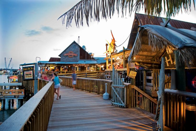 Madeira Beach - John's Pass Village and Boardwalk