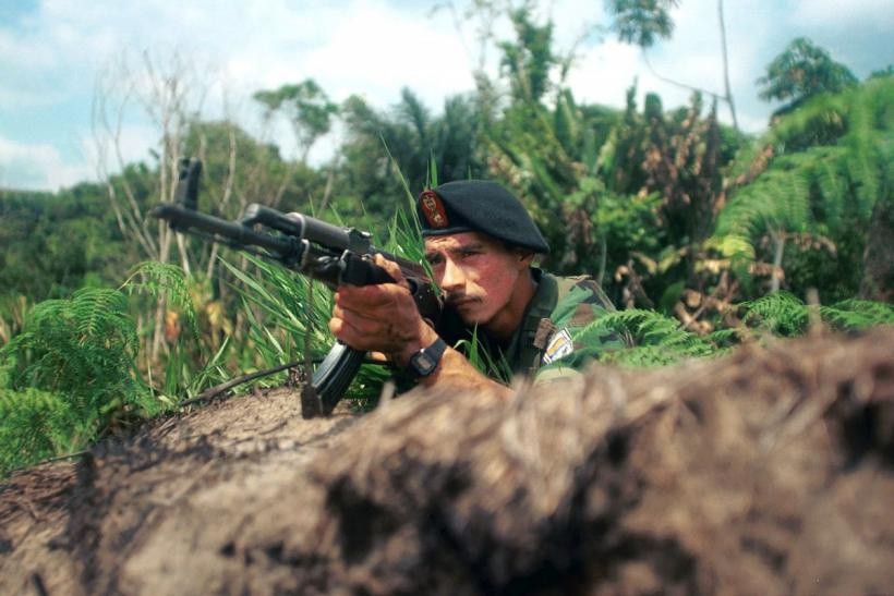 The FARC soldier