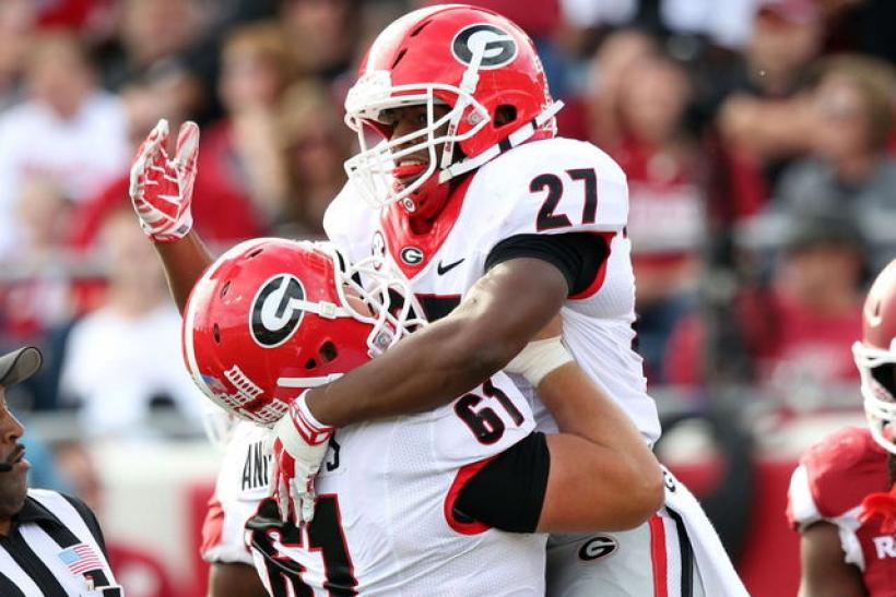 Nick Chubb Georgia