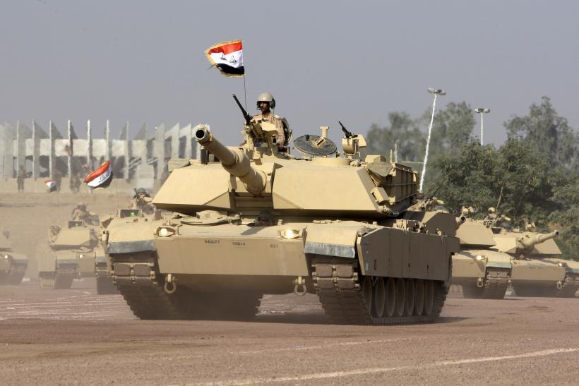 US Grants $3B Sale Of Tanks, Armored Vehicles To Iraq