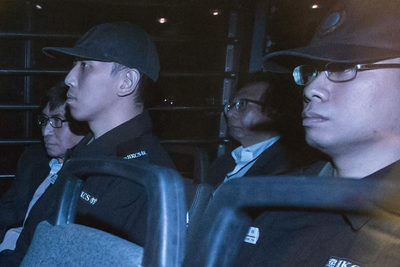 Hong Kong corruption case trial