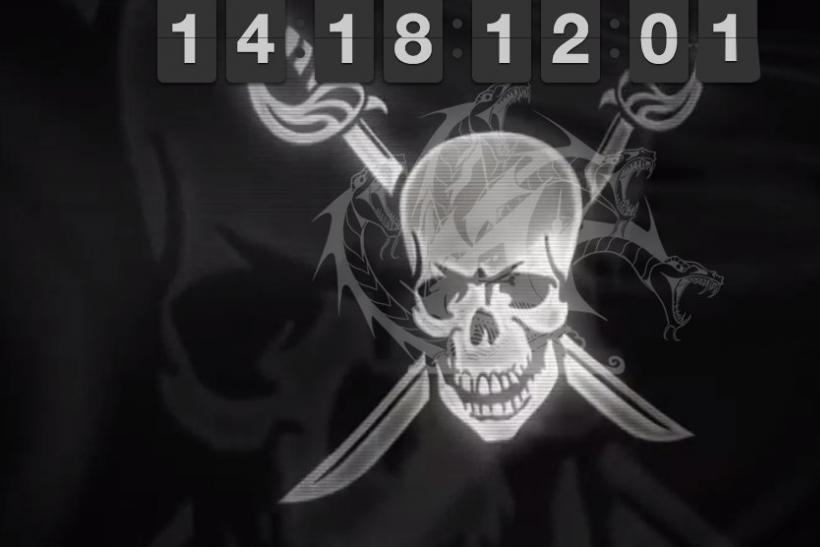 Pirate Bay downtime clock