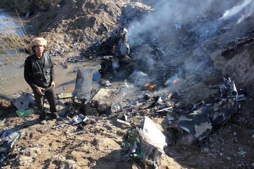 ISIS fighter jet shot down