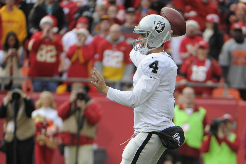 Derek Carr Raiders 2014