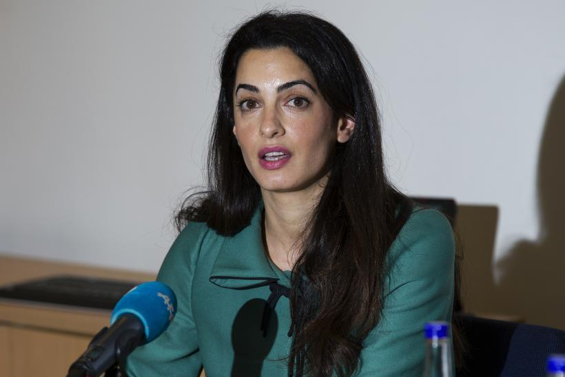 Amal Clooney threatened with arrest Egypt