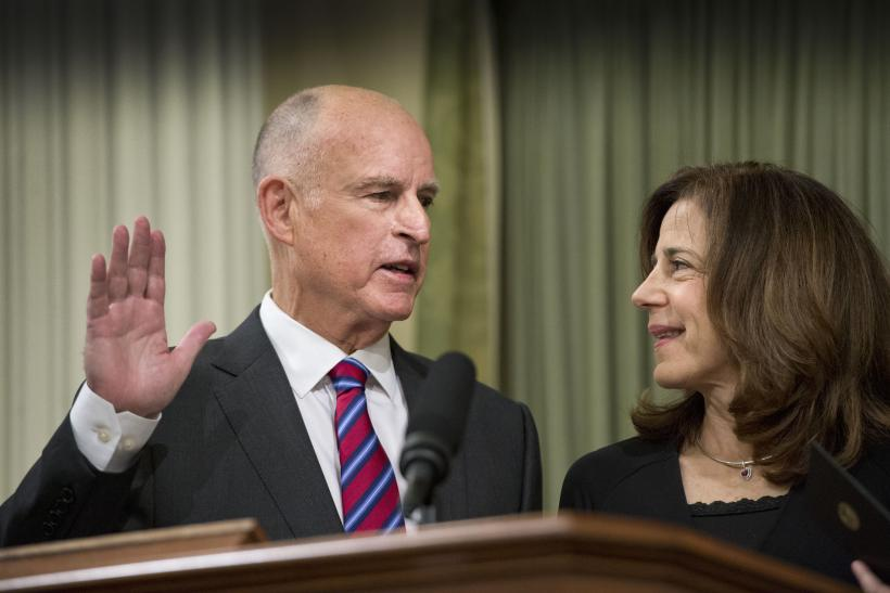 Jerry Brown Inauguration
